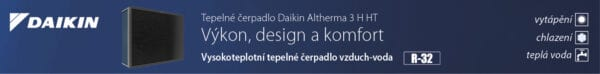 Podpisový banner - Daikin Altherma 3 H HT