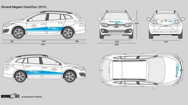 Daikin HCE polep na osobní auto